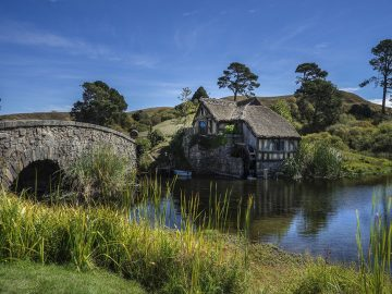 Mill House & Stone Bridge Hobbiton